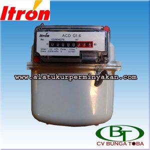Gas Meter Merk Itron Tipe ACD G1 6 / flow meter gas merk itron / distributor flow meter gas merk itron / jual meteran gas / itron gas meter / itron meter