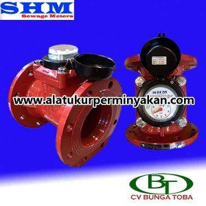 Distributor Water meter SHM 5 inch | jual shm water meter 5 inchi | water meter shm dn 125 mm | flow meter air limbah shm | water flow meter air limbah shm