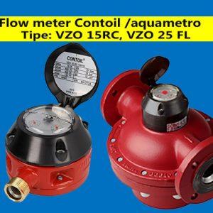 Distributor Flow meter Aquametro Contoil VZO 15 RC vZO 25 - Jual- aquametro indonesia - jual flow meter minyak - contoil vzo 25 fl - vzo 50 fl - vzo