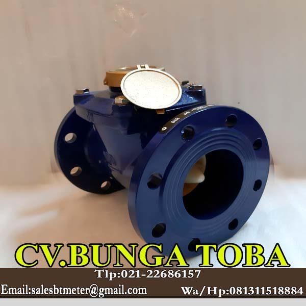 flow meter air bersih merk br 4 inch dn 100