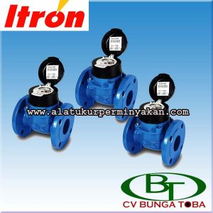 Distributor water meter itron 3 Inchi woltex dn 80 mm / Flow meter itron / Jual flow meter air itron tipe woltex / meter air itron / itron flow meter woltex