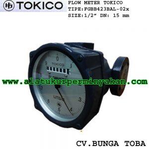 FGBB423BAL02X Tokico Flow meter Tokico size dn 15 mm | tokico 1/2 inch | jual flow meter tokico 1/2 nch | flowmeter minyak tokico jepang | harga flow meter
