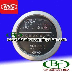 flow meter nitto seiko tipe br 13-3 flow meter minyak