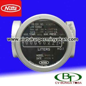 flow meter nitto seiko tipe BR 20-2 | meteran minyak | cv.bunga toba | jual nitto seiko br 20-2 | flow meter minyak nitto seiko | distributor nitto seiko