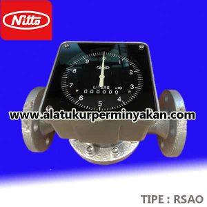 Nitto seiko flowmeter Tipe RSAO Size 2 inchi | Meteran minyak nitto seiko | jual flow meter nitto seiko tipe RSAO dn 50 mm | distributo flow meter minyak