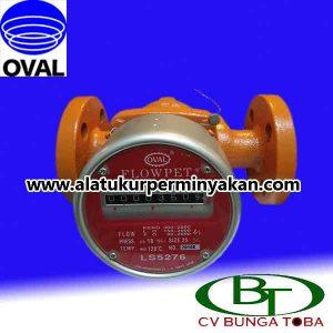 Oval Flowpet LS 5276 Flowmeter minyak | flow meter oval | cv.bunga toba | jual flow meter oval | oil flow meter oval LS 5276 | Flow meter minyak oval LS5276