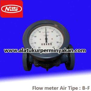 jual flow meter air nitto seiko tipe B-F SIZE 1,5 INCH