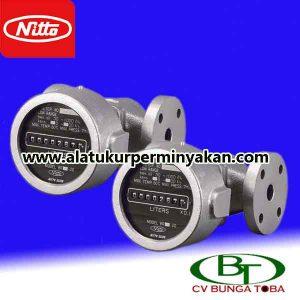jual flow meter nitto seiko tipe br 20-2 | distributor nitto seiko jakarta | meteran minyak nitto seiko