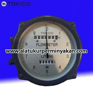 Tokico Flow meter size 1 inchi tipe FGBB835BDL 04X | jual flow meter tokico 1 inch | flow meter minyak tokico dn 25 mm | flow meter solar tokico 1 inch
