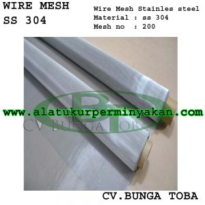 wire mesh ss 304 stainless steel mesh 200 | jual wire mesh stainless steel | distributor wire mesh stainless steel | wire mesh ss 316 l | wire mesh