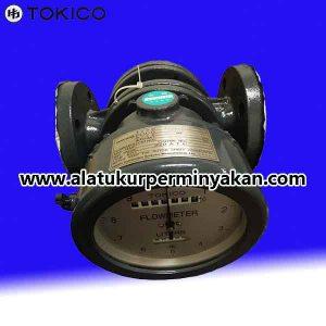 Jual flow meter tokico size 2 inchi | tokico flow meter dn 50 mm | distributor flow meter minyak tokico| oil flow meter tokico