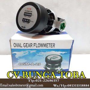 Jual OGM 1 Inch flow meter minyak solar
