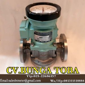 Oval flow meter LC 554-111-C117-000