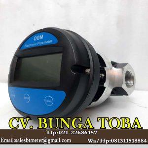 flow meter 1 inch merk ogm digital