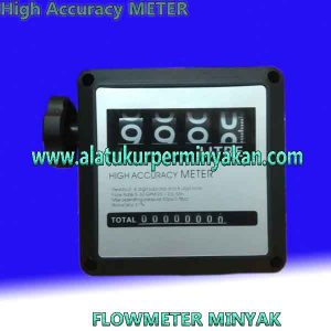 Flow meter minyak 1 inch merk HIGH ACCURACY METER DIESEL | Diesel fuel Oil Flow meter | flow meter high accuracy Meter | flow meter 4 digit 1 inch | meteran