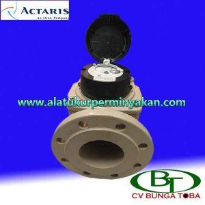 jual water meter actaris size 4 inch dn 100 flow meter