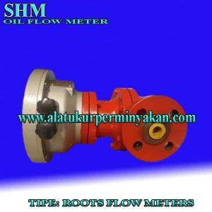 oil flow meter MERK SHM type roots flow meter