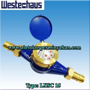 water meter westechaus dn 15 mm type lxsc15