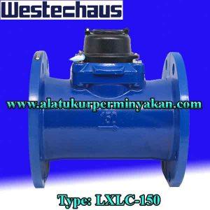 westechaus 6 inchi water meter type lxlc150 jual flow meter / meteran air / distributor westechaus water meter 6 inch / Flowmeter air wetechaus dn 150 mm