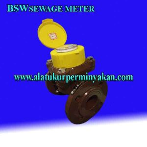 WATER METER AIR kotor merk bsw waste water