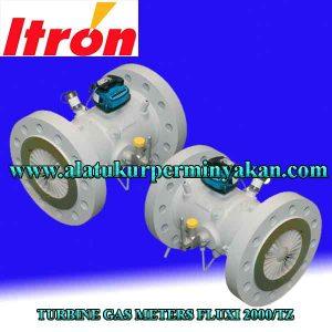 flow meter gas merk itron tipe fluxi 2000/ meteran gas itron 2000 tz, fluxi gas meter itron, flow meter gas