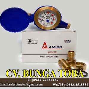 jual water meter amico dn 15 mm