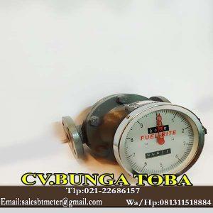 jual fuel rite flow meter 1 inch flange