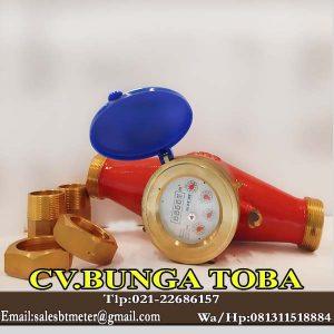 meteran air panas ukuran 1,5 inch temperatur 90 derajat